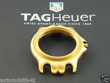 New old stock TAG Heuer S/EL Midsize Man 18K Gold plated case WG1230-K0 Part SEL