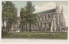 Hampshire postcard - Winchester Cathedral - FGO Stuart No. 576