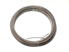 NEW GALVANISED GARDEN FENCE WIRE 2 MM 20 METRES pk 20 each 0.5kg in weight