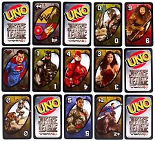 UNO DC Comics Justice League Card Game Playing Cards Kids Toys Gift Set
