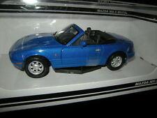 1:24 Motor Max Mazda MX-5 NA Miata blau/blue OVP