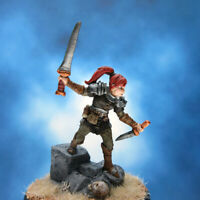 Painted Reaper BONES Miniature Female Fighter