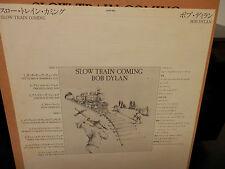 Bob Dylan-Slow Train Coming Japan Import LP w/Insert  Near Mint