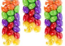 60 Ostereier 6cm Plastik kräftige Farben - Osterei Plastik, Kunststoff Plaste