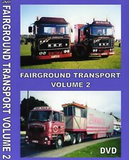 NEW FAIRGROUND TRANSPORT VOLUME 2 DVD SHOWMANS FUNFAIR TRURO DARTMOUTH EXETER