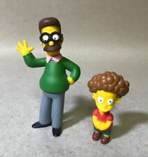 """2005 Applause Fox The Simpson's Ned & Todd Flanders 3.5"""" Figures"""