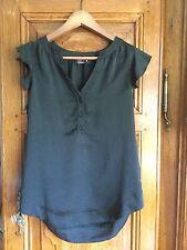 PILGRIM ruffled sleeve mao collared blouse - Sz8