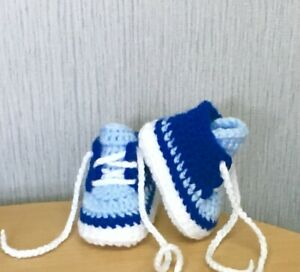 HANDMADE CROCHET BABY FIRST SHOES,BOOTIES WOOL CASUAL BOOTS SLIPPERS