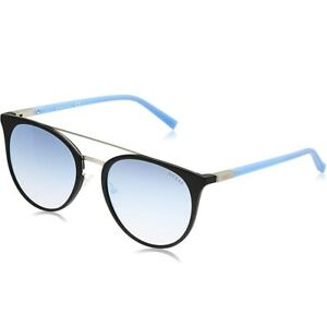 Guess Men's 56mm Blue Mirror Lens Metal Injected Frame Sunglasses - GU 3021 05X