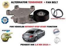 Para Peugeot 508 1.6 HDI + Sw 2010- > Nuevo Auxiliar Alternador Tensor + Correa