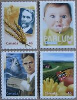 #1833a-d:  CANADA MNH 4 stamps from Hardbound Millennium Book