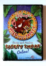 Disney Wild About Safety Timon & Pumbaa Internet Safety Smart Online Kids DVD
