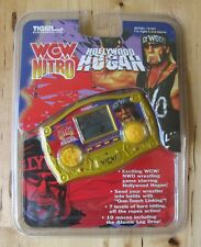 1998 Tiger WCW Nitro Hollywood HULK HOGAN Electronic Handheld Travel Video Game