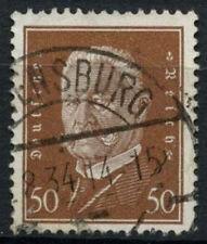 Alemania 1928-32 Sg # 439, 50pf Brown empleó #a 85244
