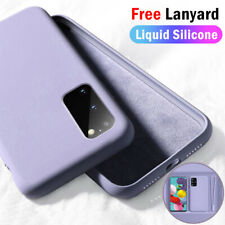 Liquid Silicone Hand Lanyard Case Cover For Samsung Note 10 S20 Plus A51 A71 A40