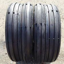 2 New 11x4.00-5 4 Ply Rib Lawn Mower Deestone Tires Free Shipping!!!  DS7210