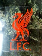 2pc Vehicle FUN decal FC Liverpool Internal Car window Sticker Red