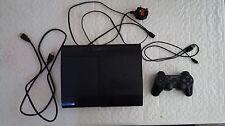 Sony PlayStation 3 320GB Jet Black Console + 12 GAMES INC GTA5