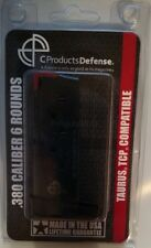 C Products Defense Taurus PT-738 TCP 380acp 6rd Mag 6X38141208 CPD Black - NEW