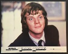 close up of Malcolm McDowell Stanley Kubrick's Clockwork Orange, lobby card 2836