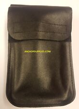 4 x Ex Police Leather Notebook Pouch Fits 2 inch belts Qty 4 Supplied
