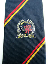 MORRISTON ORPHEUS CHOIR WALES 3 INCH POLYESTER NECK TIE