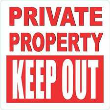 KEEP OUT QUALITY OUTDOOR PROPERTY GATE SIGN SM CATTLE FENCE SAFETY SIGNHORSE