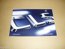 2009 Mercedes-Benz CLS-class CLS550 CLS63 AMG sales brochure literature
