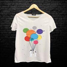 UK Fashion Donna Tops allentato T-shirt manica corta T Shirt Donna Casual Camicetta
