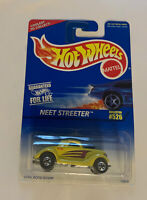 Hot Wheels Mattel 1996 Neet Streeter Hot Rod Coupe  Yellow #526 New