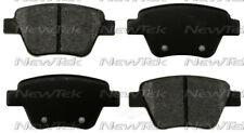 Disc Brake Pad Set-Galaxy Ceramic Disc Pads Rear NewTek SCD1456