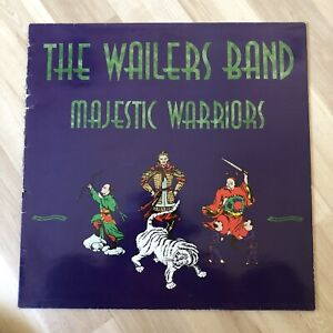 The Wailers Band - Majestic Warriors - 1991 Reggae Vinyl Album