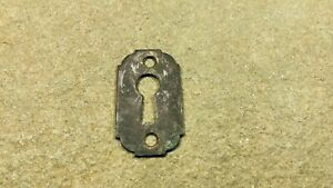 Vintage Antique Lock Escutcheon Brass Key Hole Cover Furniture Drawer Hardware