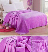 Luxury Warm Soft Large Polar Fleece Throw Blanket Sofa Bed Travel Car Throwover