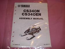 Yamaha 1989 CS340N CS340EN Assembly Manual LIT-12668-01-10
