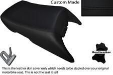 BLACK STITCH CUSTOM FITS HONDA ST 1300 PAN EUROPEAN 02-14 REAR SEAT COVER