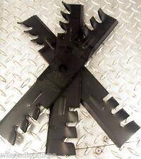 """3 Exmark  Mower mulching Blades. For 44"""" Deck 1-653101  (9884)"""