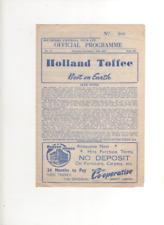 1954-55 Southport V Accrington Stanley 18th DICEMBRE 1954, DIVISIONE 3 North