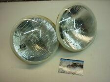"Classic Mini Cibie Halogen Headlight Lenses Units Rover Austin Morris BMC 7"""