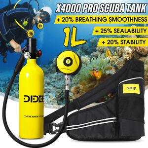 SALE !!!  DIDEEP 1L SCUBA Tauchausrüstung Sauerstoffflasche Unterwasseratemgerä