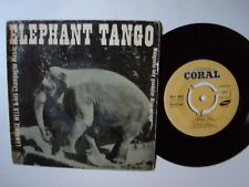 """LAWRENCE WELK & His Champagne Music: Elephant Tango 7"""" EP 1955 CORAL ECV 18.051"""