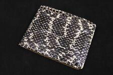 Genuine Cobra Snake Skin Leather Men's Bifold Wallet #2