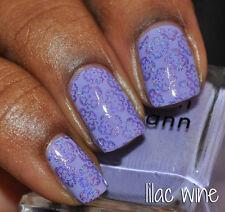 NEW! Deborah Lippmann LILAC WINE Polish Lacquer full size Purple Pastel Lavender