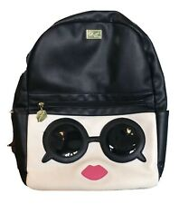 BETSY JOHNSON Sunglasses And Pink Lips Backpack NWOT