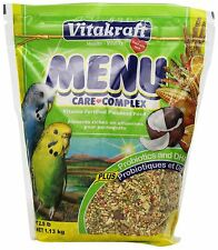 Vitakraft Menu Vitamin Fortified Parakeet Food 2.5 lb. New Free Shipping