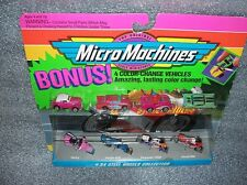 STEEL WHEELS COLLECTION #34   Micro Machines Set    w/ Color-Change cars