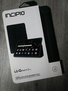 """Incipio Folio Case For LG G Pad X 2 (10.1"""") - Black"""