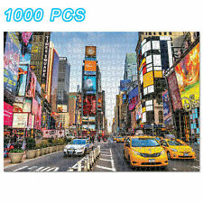 1000 piece Jigsaw Puzzle Times Square Puzzles For Adults Kids Learning Education