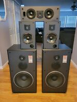 JBL CF-120 Theater Studio Floor speakers and surround speakers Pre-owned
