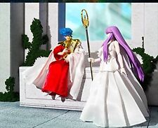Bandai Saint Seiya Cloth Myth Phoebus Abel & Goddess Athena Memorial Set Figure